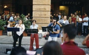 2002 BUSKER Festival ON THE ROAD –  GLI OCHTOPUS