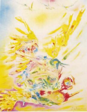 Sogni e colori dalla pittrice della luce