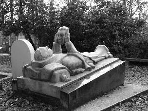 Cimitero di Père-Lachaise di Parigi foto Nez
