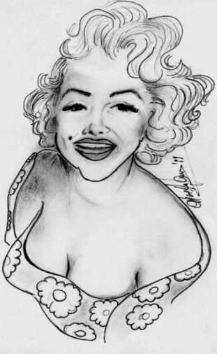 Marilyn Monroe by Nida