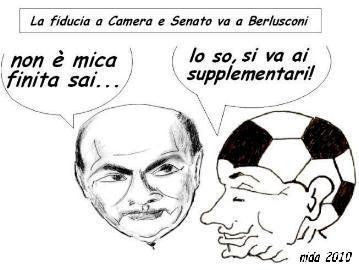 La Fiducia a Camera e Senato va a Berlusconi