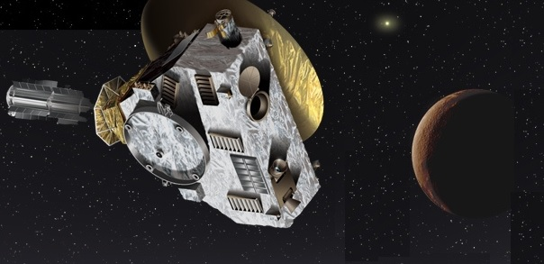 NEW HORIZONS E PLUTONE IN FLYBY