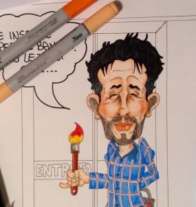 Vignetta Miky Ghironzi per Edizioni Damiano