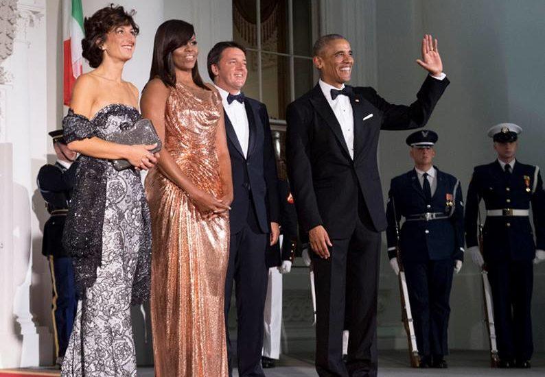 Agnese Michelle modelle d'eccezione alla Casa Bianca