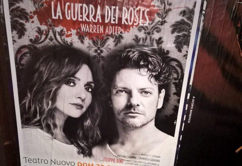 Ambra Angiolini e Matteo Cremon in La guerra dei Roses