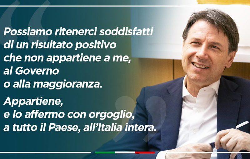 GIUSEPPE CONTE. E' LUI L'UOMO DEL MIRACOLO ITALIANO?
