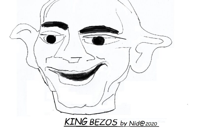 KING BEZOS COME RE MIDA